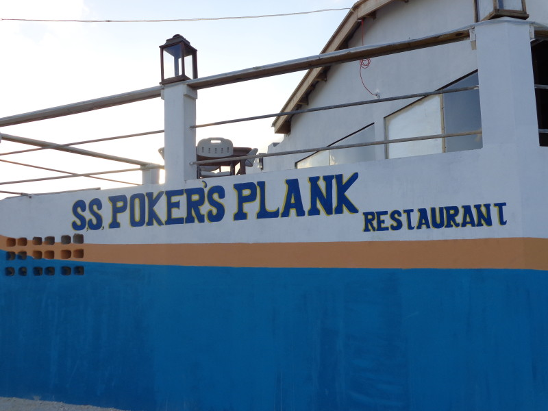 My Anguilla Experience, Pokers Plank Restaurant, Tourist Day 2013, Anguilla