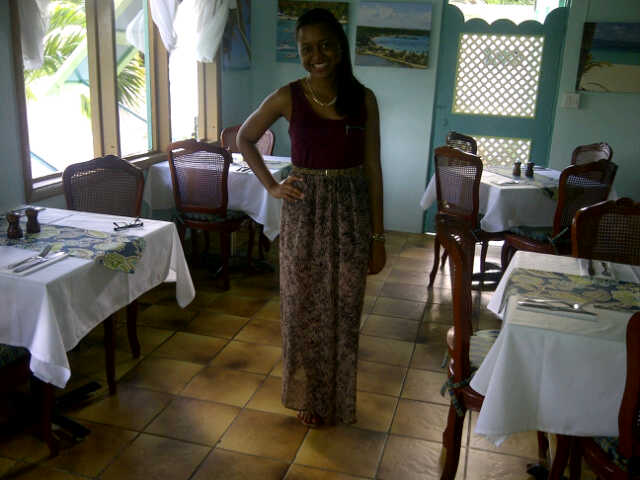 Tasty's Restaurant, Anguilla, Tourist Day 2012
