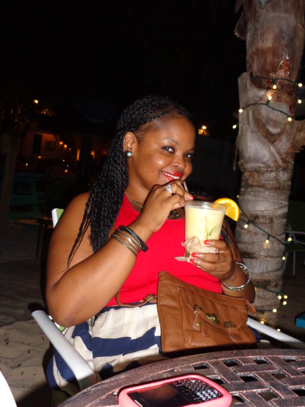 My Anguilla Experience - Verny at Blanchard's Beach Shack, Tourist Day, 2013