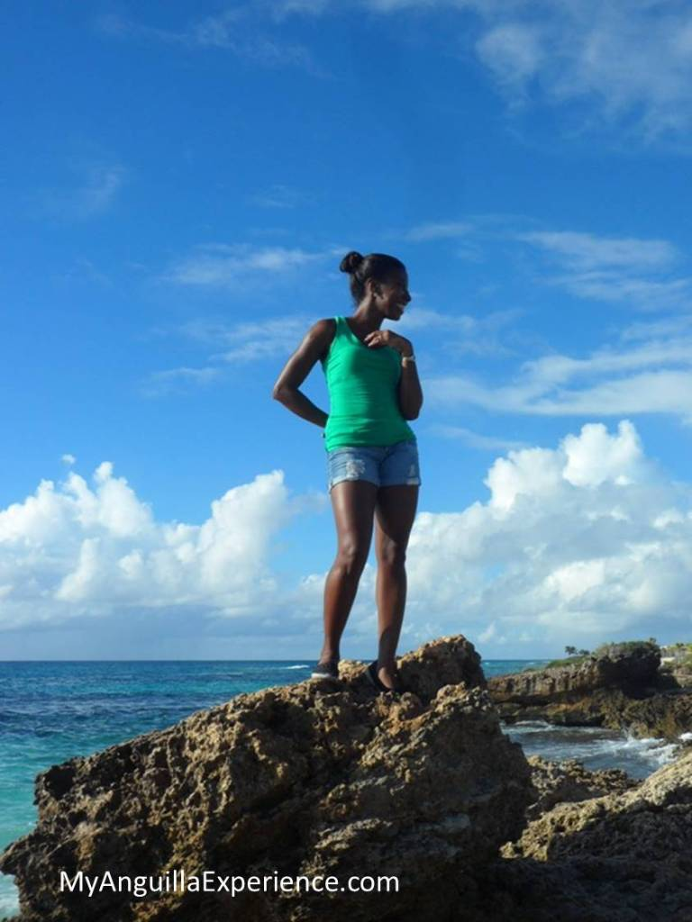 First part of walk with the Anguilla National Trust