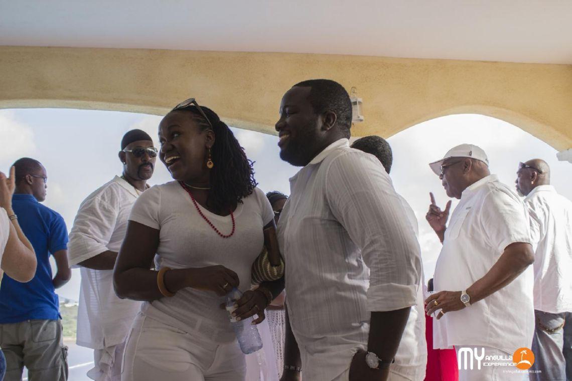 Debbie and Orrett from Design Anguilla