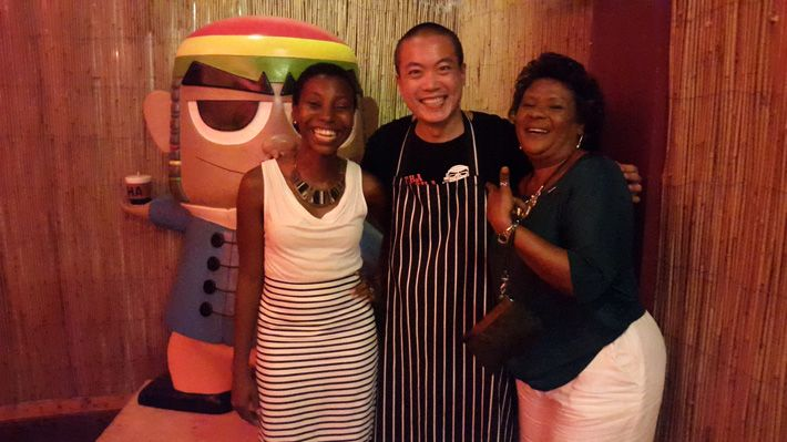 With Chef Ken at Cha Cha San