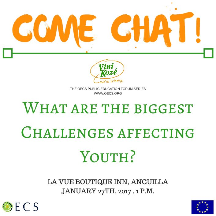 OECS invites you to Vini Kozé (Come Chat) Youth Forum